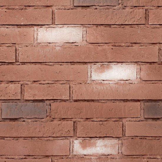 Kamień dekoracyjny wewnętrzny SOTANO 4 czerwony z fugą STONES