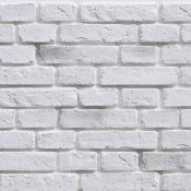 Płytka cegłopodobna wewnętrzna VINTAGE 2 biała z fugą STONES