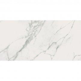 Gres szkliwiony CALACATTA MARBLE biały poler 59,8x119,8 gat. II
