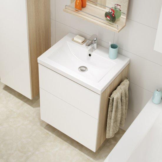Szafka podumywalkowa SMART biała pod umywalki COMO / COLOUR 50