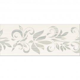 Płytka ścienna ORGANZA grey inserto kwiaty mat 20x50 gat. I