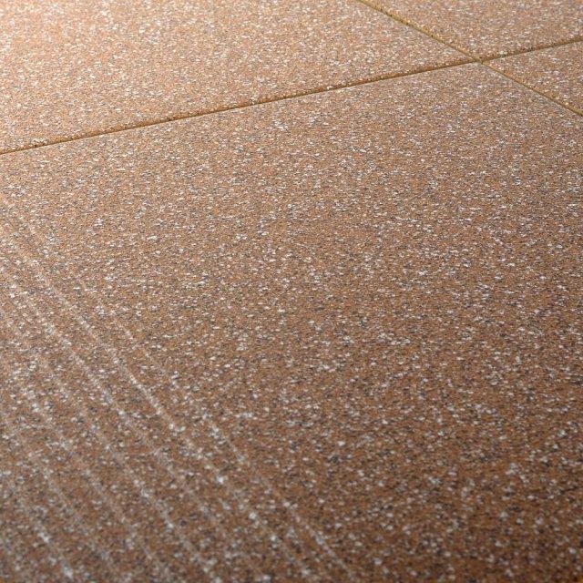 Gres szkliwiony stopnica MILTON orange mat 29,7x29,7 gat. II