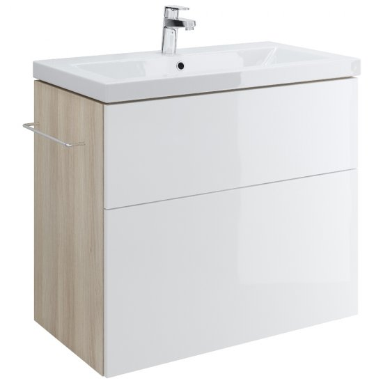 Szafka podumywalkowa SMART biała pod umywalki COMO / AMAO / ZURO 80