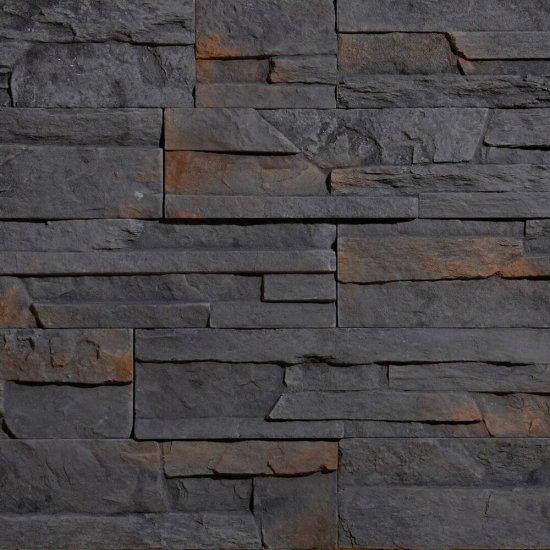 Kamień dekoracyjny zewnętrzny NEPAL 3 grafitowy STEGU
