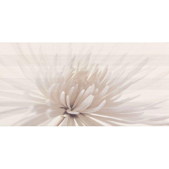 Płytka ścienna inserto AVANGARDE white flower glossy 29,7x60 gat. I