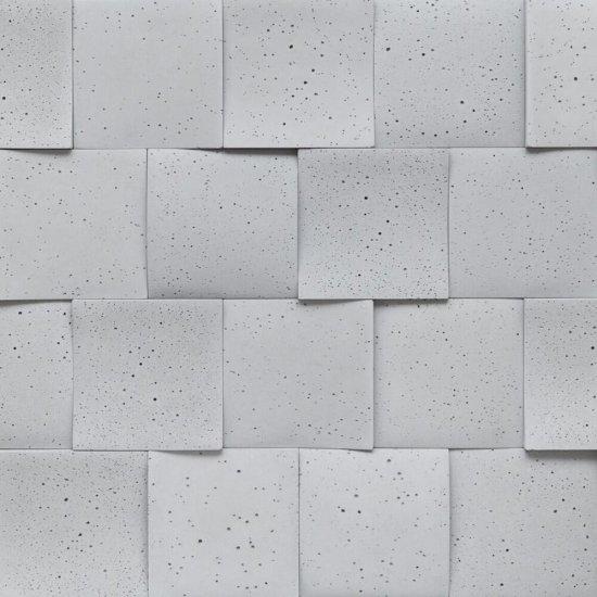 Betonowa płytka dekoracyjna 3D RUBICA 2 szara STONES