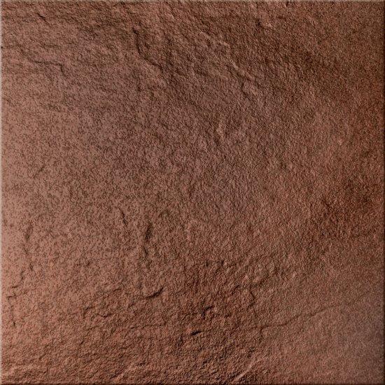 Klinkier podłogowy SOLAR brąz structure glossy 30x30 gat. I