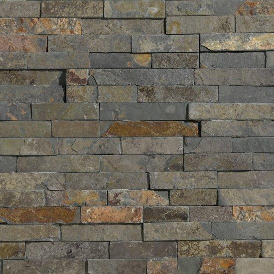 Kamień naturalny RUSTY multikolor STEGU