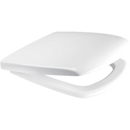 Deska sedesowa CARINA prostokątna duroplast antybakt