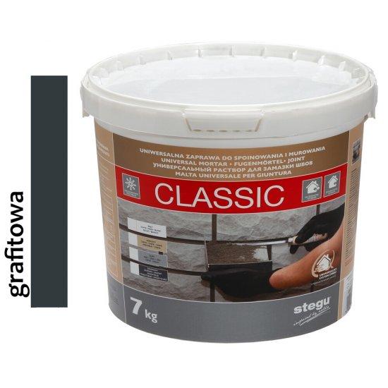 Zaprawa do fugowania FUGA CLASSIC grafitowa 7 kg STEGU