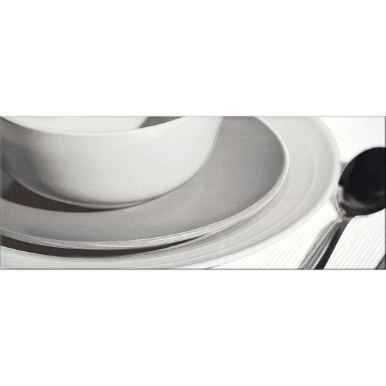 Płytka ścienna inserto PENNE white modern 2 glossy 20x50 gat. I
