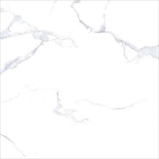 Gres white MARBLE polished 60x60 gat. I