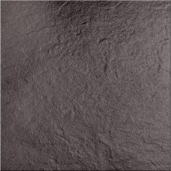 Klinkier podłogowy SOLAR grafit structure glossy 30x30 gat. I