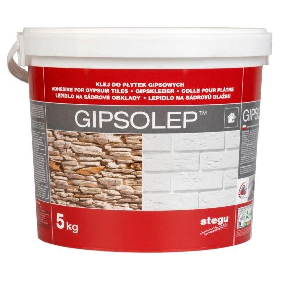Klej gipsowy Gipsolep 5 KG STEGU