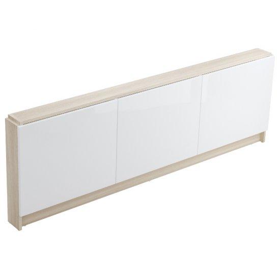 Panel meblowy do wanny SMART 170 czołowy biały