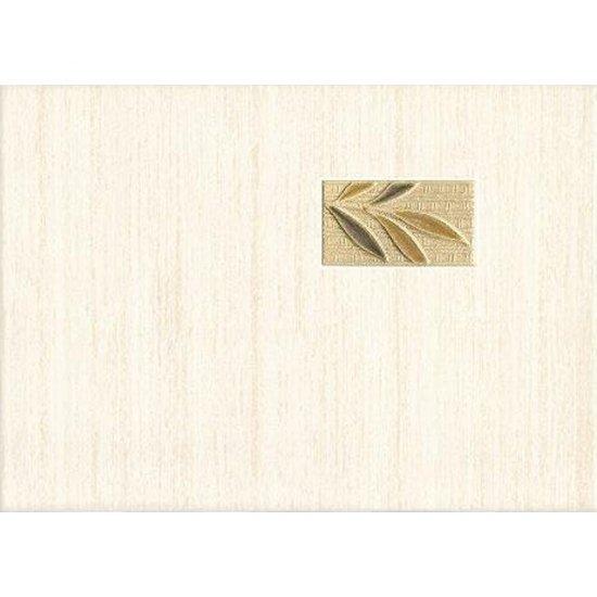 Płytka ścienna Tenera giallo inserto kafel bambus 25x35