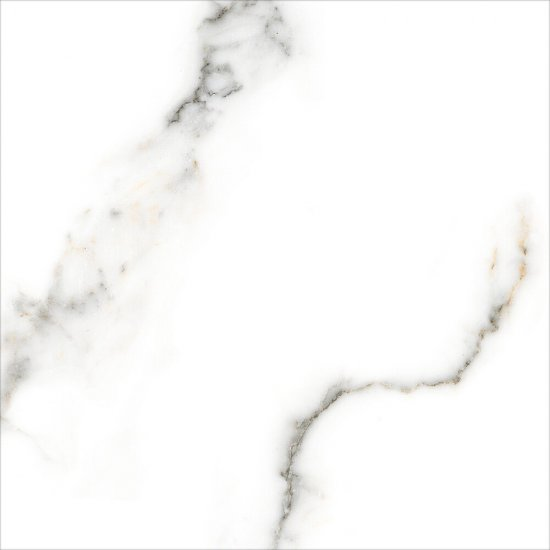 Gres szkliwiony CARRARA white polished 60x60 gat. I