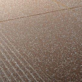 Gres szkliwiony stopnica MILTON brąz mat 29,7x29,7 gat. I