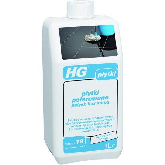 Środek czyszczący HG płytki polerowane - połysk bez smug 1 l