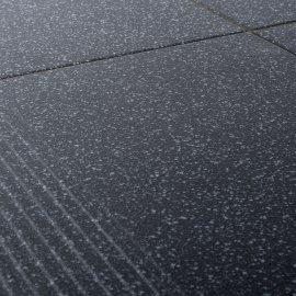 Gres szkliwiony stopnica MILTON grafit mat 29,7x29,7 gat. I