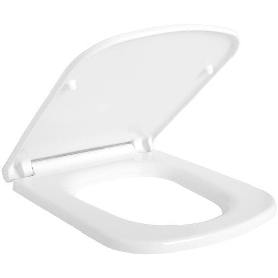 Deska sedesowa COLOUR prostokątna duroplast antybakt wolnoopad