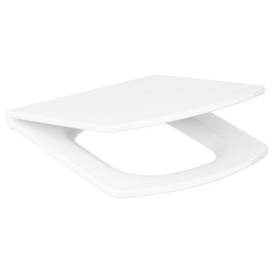 Deska sedesowa EASY prostokątna duroplast antybakt wolnoopad
