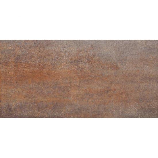 Gres szkliwiony STEEL brown mat 29,7x59,8 gat. I