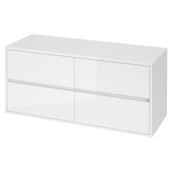 Szafka łazienkowa z blatem uniwersalnym CREA 120 biała