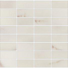 Płytka ścienna mozaika CARRARA white glossy 29x29,5 gat. I