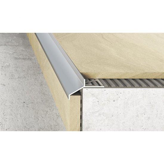 Profil okapowy A99 srebrny 2,5 m EFFECTOR
