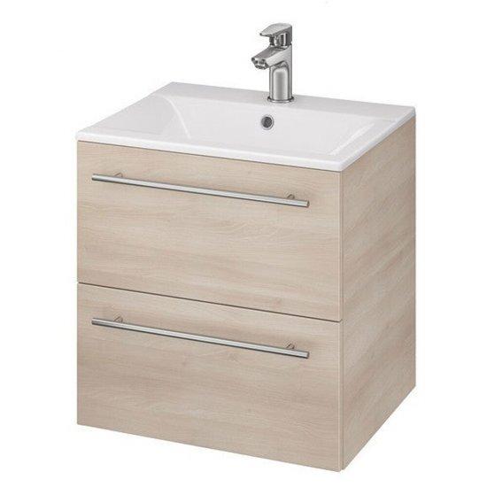 Szafka z umywalką w zestawie SET 728 ELISA ONTARIO 50 jesion dsm