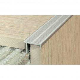 Profil schodowy A58 srebrny 2,5 m EFFECTOR