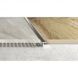 Profil łączeniowy płaski A57 srebrny 2,5 m EFFECTOR