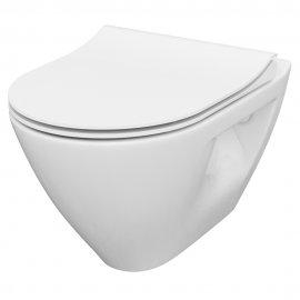 Miska WC podwieszana SET B292 MZ MILLE PLUS CLEAN ON deska duroplast slim