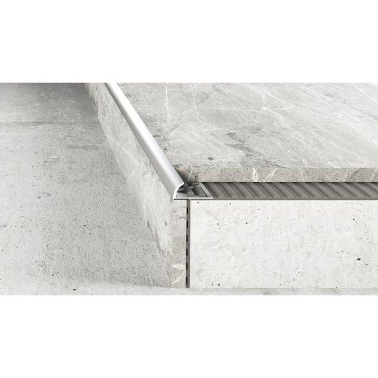 Profil krawędziowy owalny A53 srebrny 2,5 m EFFECTOR