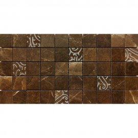 Gres szkliwiony mozaika ARKOS brown classic glossy 22,2x44,6 gat. I