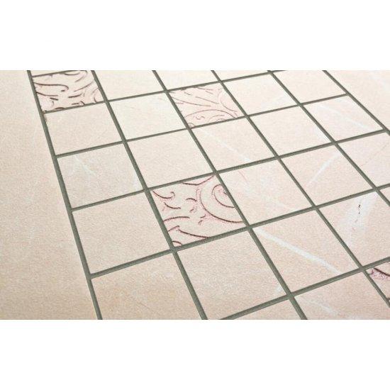 Gres szkliwiony ARKOS kremowy mozaika classic połysk 22,2x44,6 gat. I