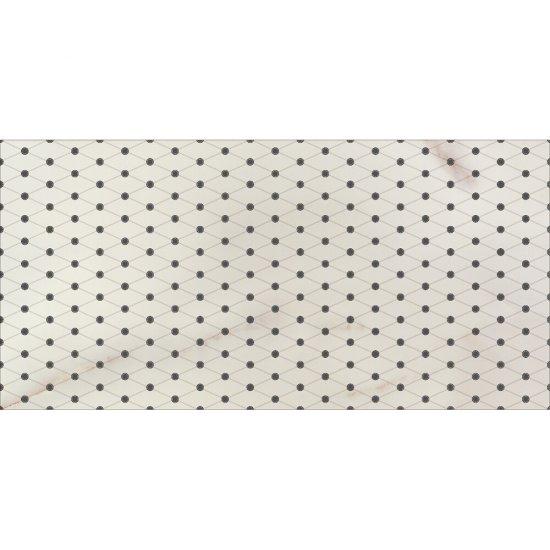 Płytka ścienna inserto CARRARA cream classic glossy 29x59,3 gat. I