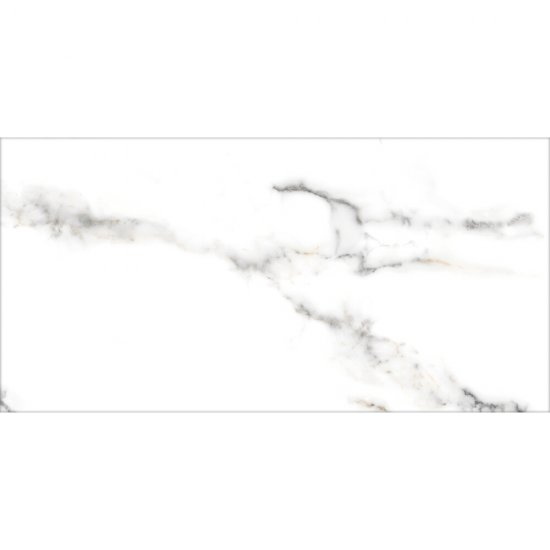 Gres CARRARA white polished 60x120 gat. I