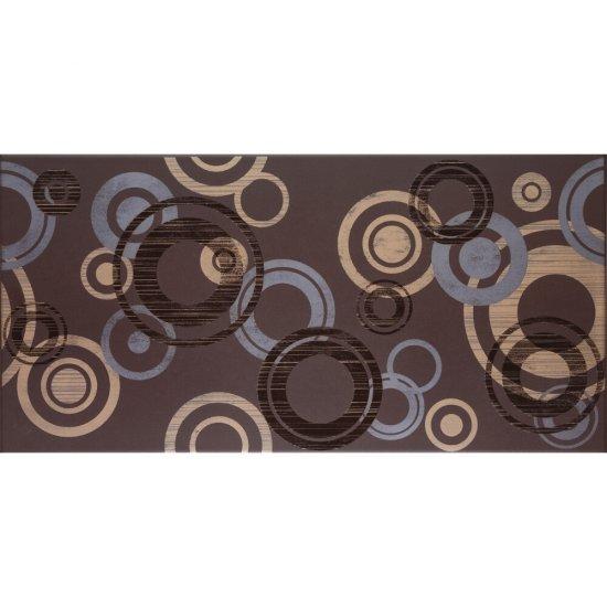 Gres szkliwiony inserto AMARANTE brąz modern glossy 29,7x59,8 gat. I