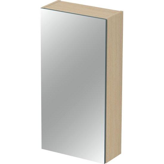 Szafka łazienkowa wisząca z lustrem INVERTO 40