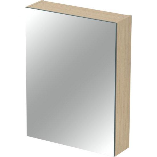 Szafka łazienkowa wisząca z lustrem INVERTO 60