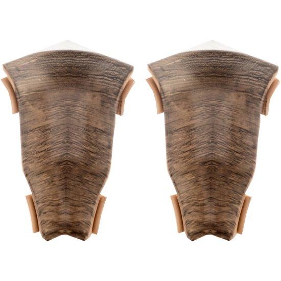 Komplet narożników wewnętrznych Perfecta Wood dąb jaspis 2 szt. KORNER