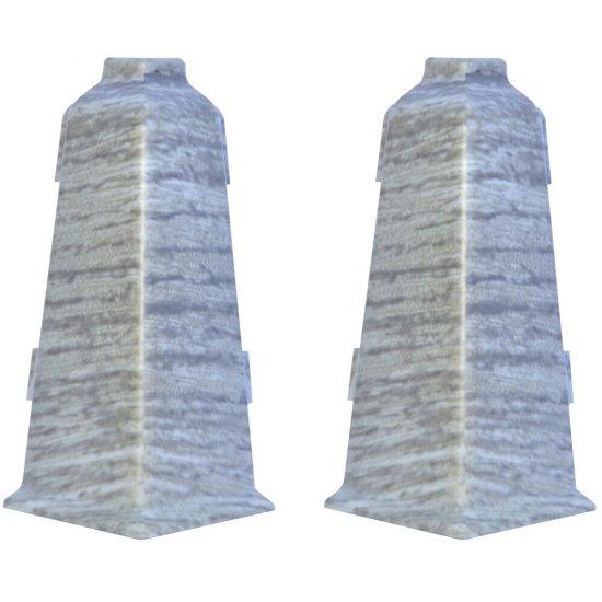 Komplet narożników zewnętrznych EVO dąb jaśminowy 2 szt. KORNER