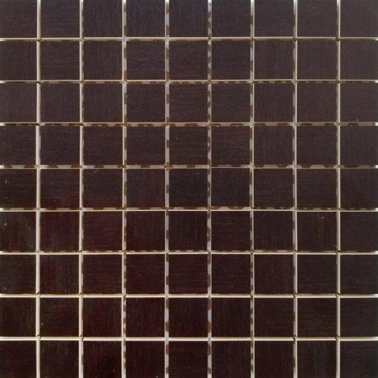 Płytka ścienna SYMFONIA brązowa mozaika błyszcząca 30x30 gat. I