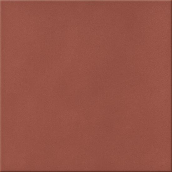 Klinkier podłogowy LOFT czerwony mat 30x30 gat. I