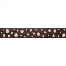 Płytka ścienna ZEBRANO brązowa listwa modern mat 7x45 gat. I