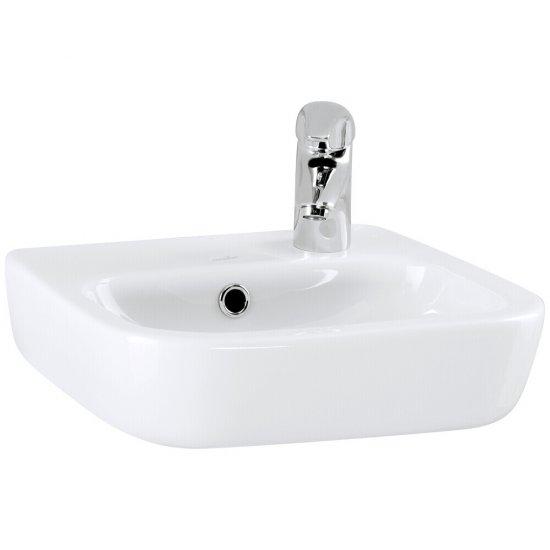 Umywalka wisząca FACILE 40 z otworem po prawej stronie