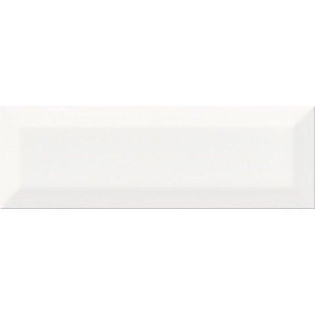Płytka ścienna METRO STYLE white structure glossy 10x30 gat. II