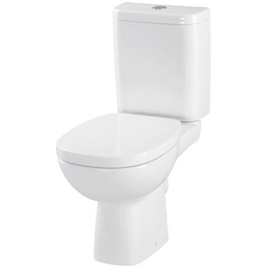 Kompakt WC 317 FACILE prostokątna deska duroplastowa wolnoopad